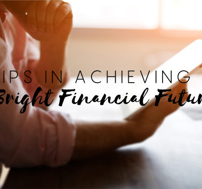 Tips on Achieving Financial Growth